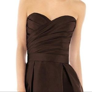 Alfred Sung Dress - Brownie